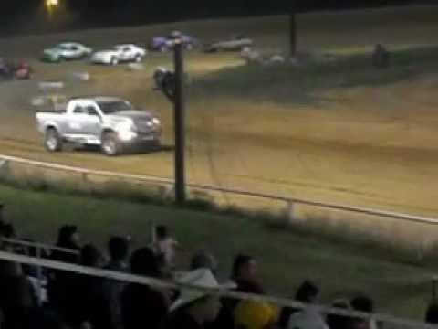 Mini Stock Race Beebe Speedway