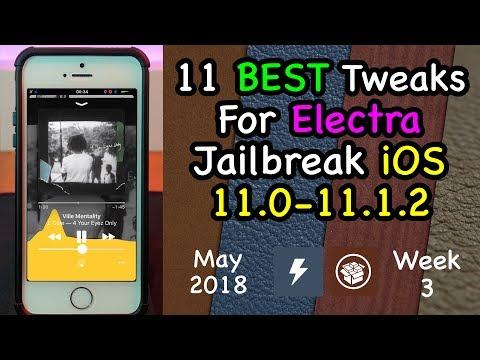 AUDIO VISUALIZER | 11 BEST Electra Jailbreak Tweaks | May Wk3