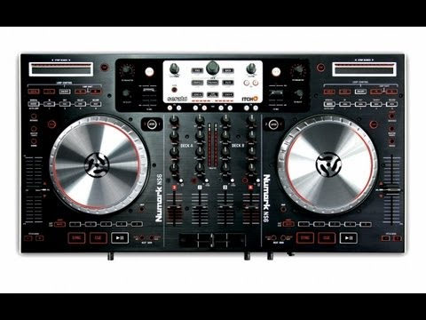 numark ns6 4 channel digital dj controller and mixer review youtube. Black Bedroom Furniture Sets. Home Design Ideas