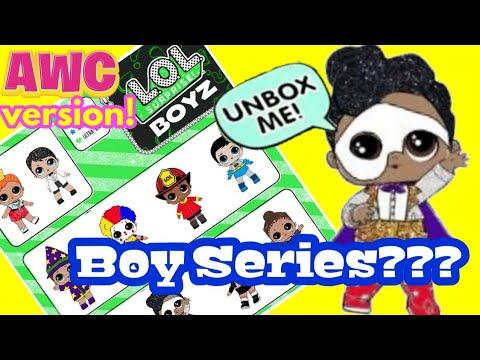 LOL Surprise Series 6 Boy Series Predictions Sneak Peek! + Adulting with Children LOL DIY Customs