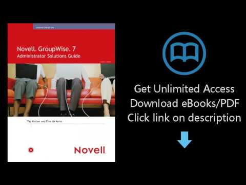 Download Novell GroupWise 7 Administrator Solutions Guide [P.D.F]
