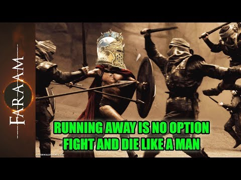 [For Honor] Running away is no option - Fight and die like a man!