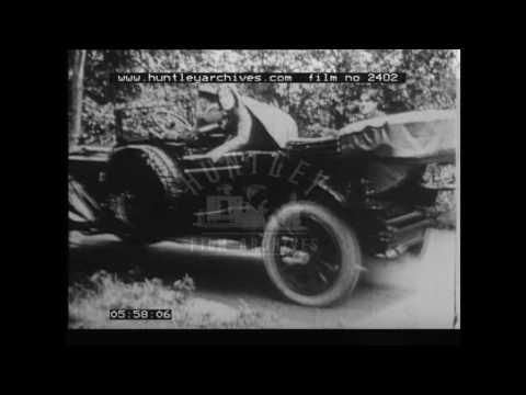 Marie Dressler comedy.  Archive film1910's.  Archive film 2402