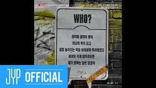 "Stray Kids 2ND MINI ALBUM ""I am WHO"" Inst. Lyric Card 1 ""WHO?"""
