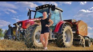 Girl Tractor Massey Ferguson :-)