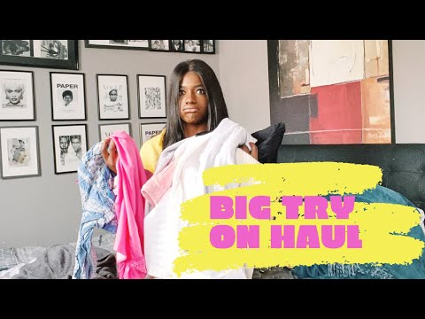 BIG BIG TRY ON HAUL - ZARA, DAILY PAPER, ESSENTIEL ANTWERP, SUBDUED, URBAN OUTFITTERS, MAJE ...