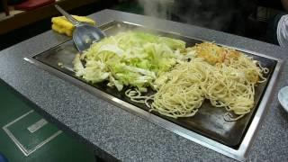 焼きそばジャンボ 一人前の調理の全容