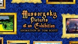 Mussorgsky ''Bilder einer Ausstellung'' mit animation von Tom Scott