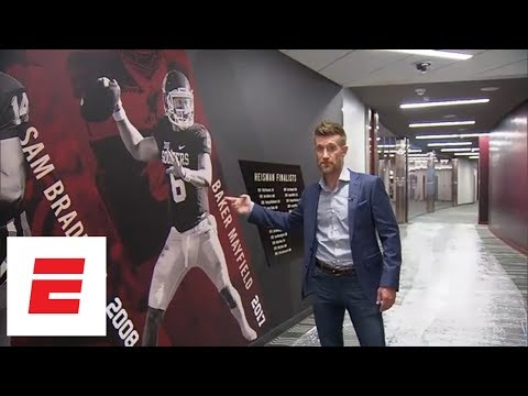 Marty Smith's Exclusive Tour Of Oklahoma's Football Facilities | ESPN