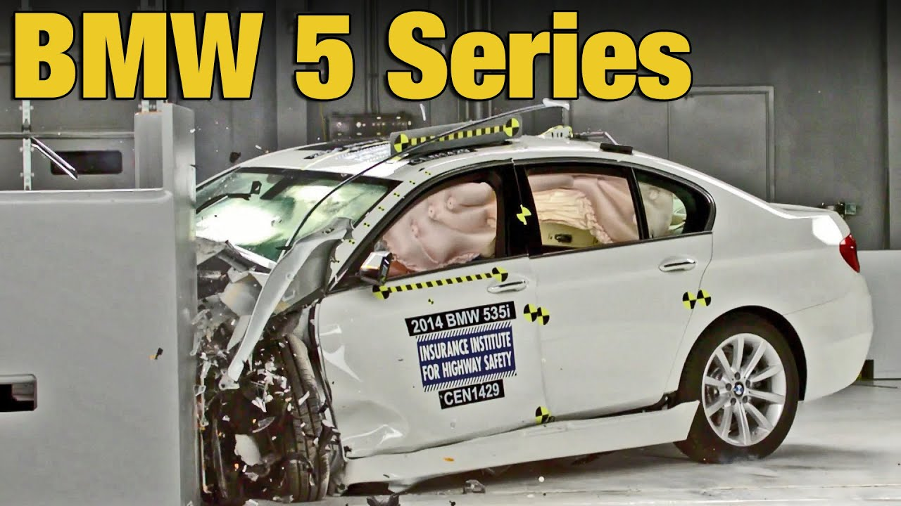 bmw 5 series 2015 crash test youtube. Black Bedroom Furniture Sets. Home Design Ideas