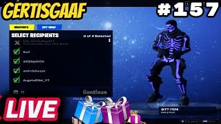 [GIG CLAN] GIFTING ZIT IN DE GAME!!!!! [870+wins PC] #157 🔴Livestream Fortnite Battle Royale NL 🔴