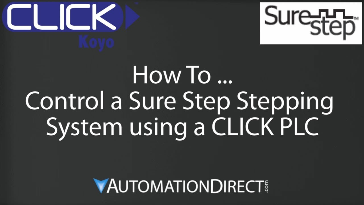 Click plc how to control a sure step stepping system youtube asfbconference2016 Choice Image