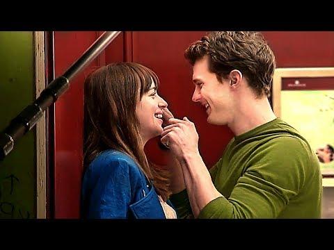 Jamie Dornan et Dakota Johnson : moments câlins hors caméra ! - 50 NUANCES PLUS CLAIRES