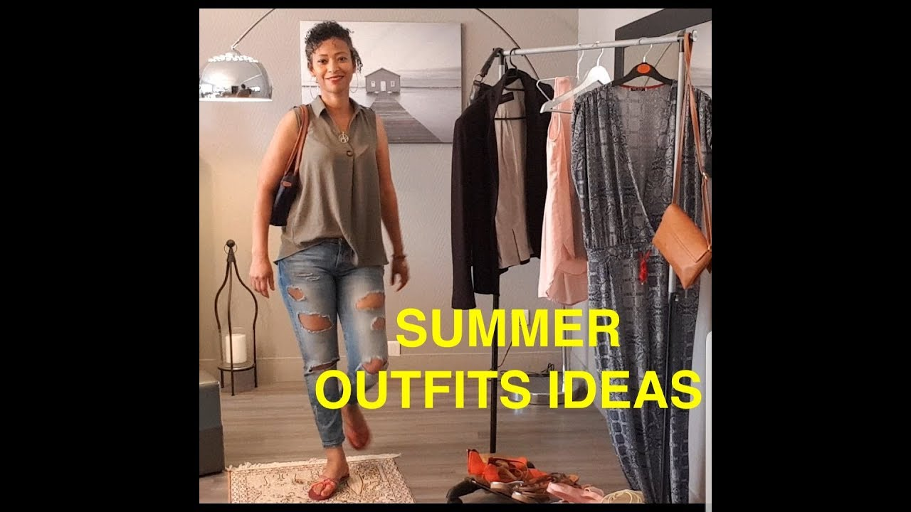 SUMMER OUTFITS IDEAS - FASHION LOOKBOOK 2019تنسيقات ملابس الصيف 3