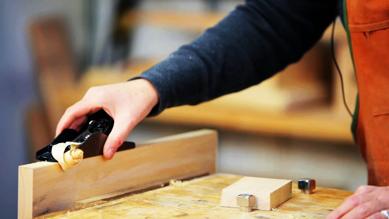 How to Use a Block Plane Woodworking - YouTube
