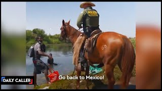 Media Claimed These Horseback Agents Were Using 'Whips' On Migrants