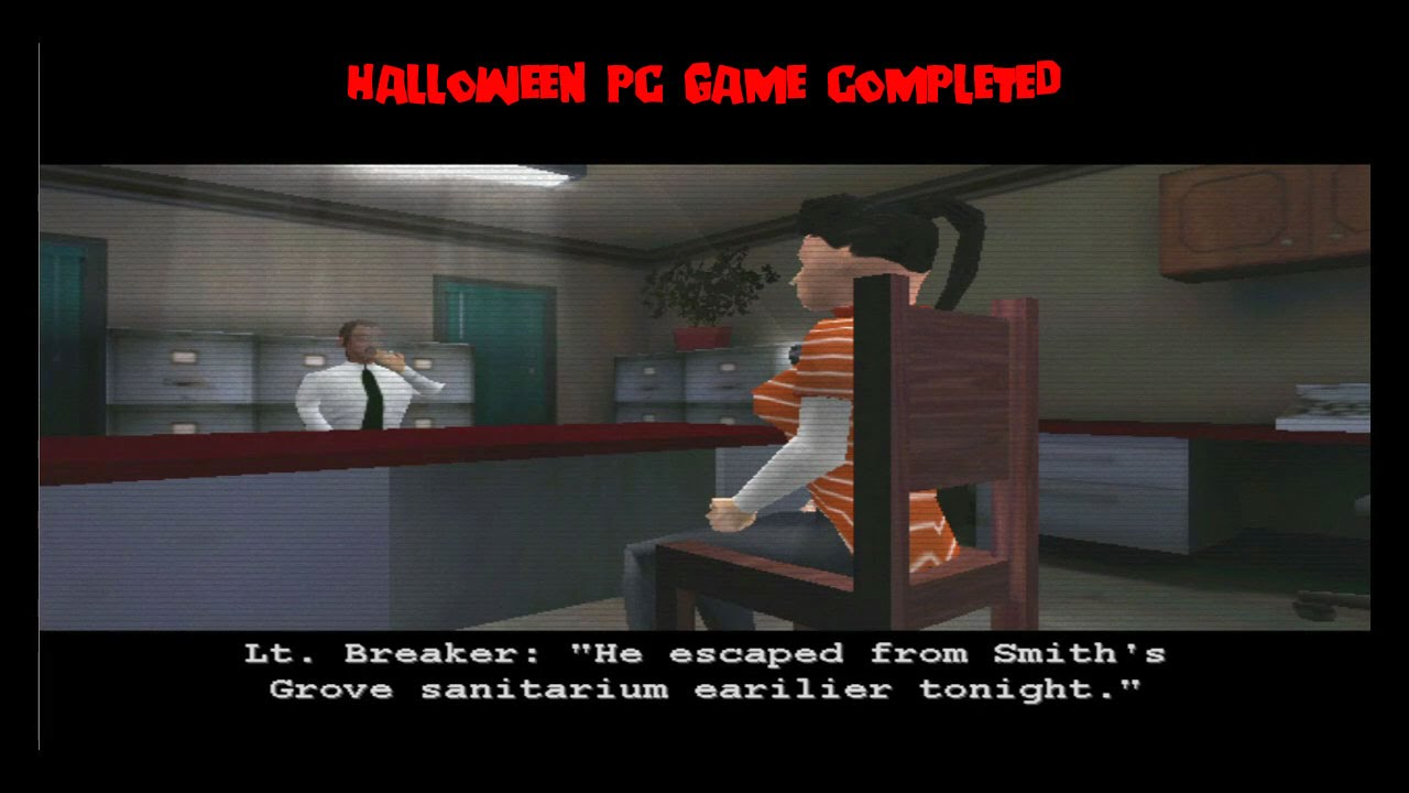 Halloween PC GAME Full Completion MICHAEL MYERS VIDEO GAME Halloween Night  Survived