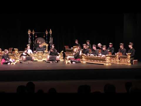 Bebonangan - Grebel Community Balinese Gamelan Winter 2018
