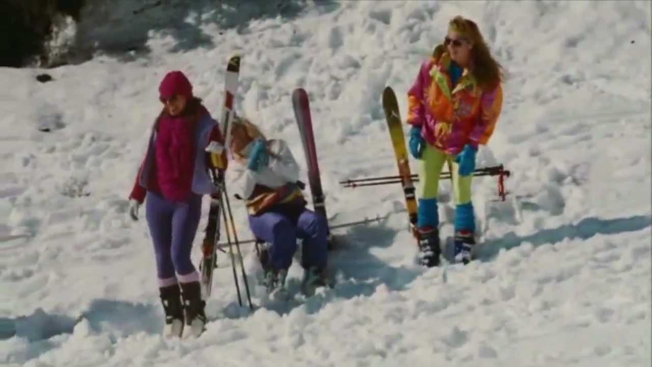 Hot Tub Time Machine: Skiing Scene - YouTube