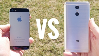 Apple iPhone 5S vs Xiaomi Redmi Pro?(iPhone 5S vs Xiaomi Redmi Pro is a closer match up than you might think. In this video we compare the iPhone 5S to the Xiaomi Redmi Pro in a series of tests ..., 2017-02-19T17:04:52.000Z)