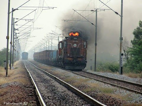 Diwali Special !! Firing Smoke : Indian Railway's