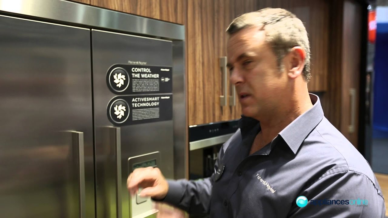 Fisher and paykel french door fridge reviews - Fisher Paykel 790mm French Door Fridge Rf522adux1 Features Appliances Online Youtube