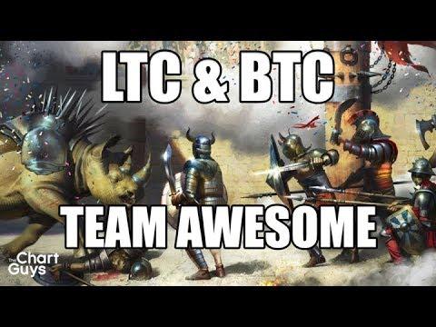 Bitcoin Ethereum Litecoin BCH Technical Analysis Chart 11/16/2017 by ChartGuys.com