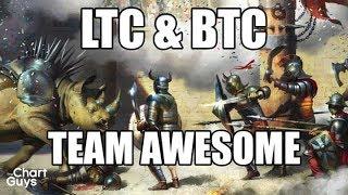 Bitcoin Ethereum Litecoin BCH Technical Analysis Chart 11/16/2017 by ChartGuys.com 2017 Video