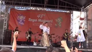 Apresentacao da oitava música, Kariyushi No Yoru, かりゆしの夜, do ...
