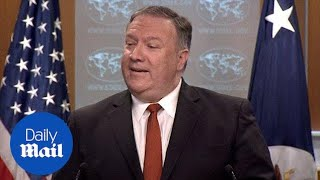 Mike Pompeo says Russia working to undermine North Korea sanctions