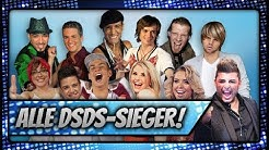 ALLE DSDS GEWINNER (2002 - 2019) | Update in Comments