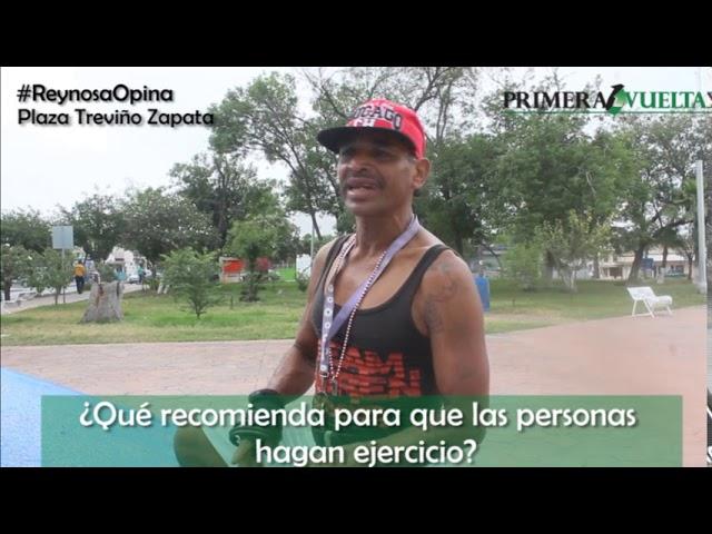 Ciudadano comparte su opinión sobre la importancia de hacer ejercicio