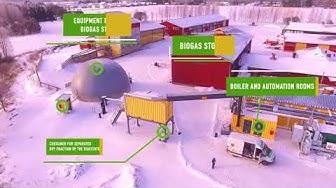 BioGTS® biogas plant, Suupohja vocational institute