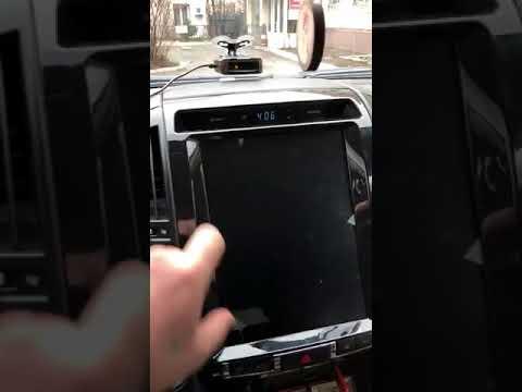 Обзор Tesla-style магнитолы установленной в Toyota LC 200 2010