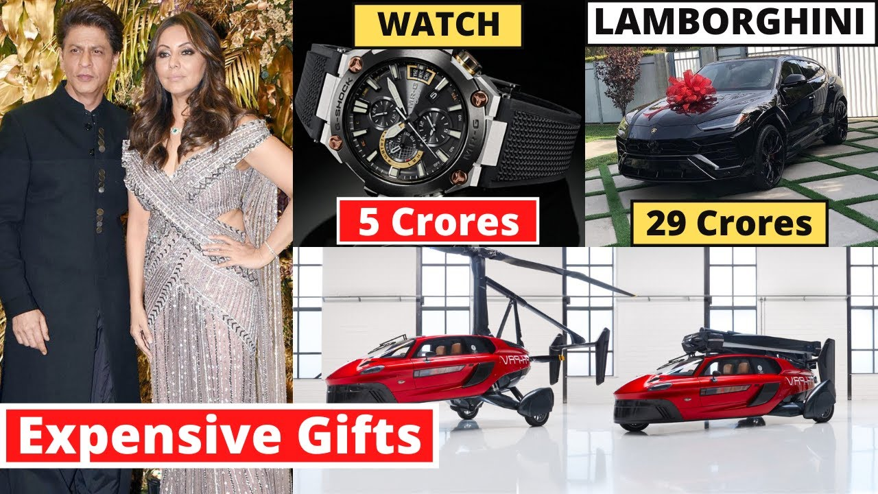 Shahrukh Khan's 10 Most Expensive New Year Gifts From Bollywood stars