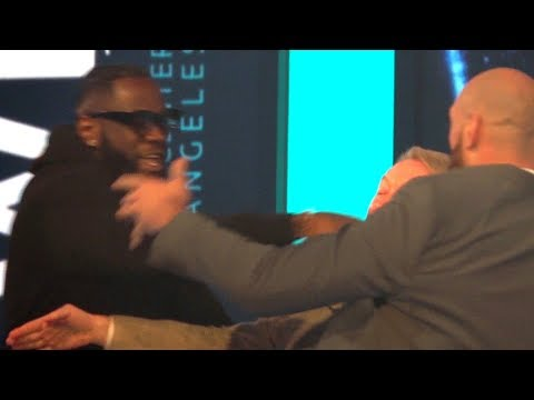 Fury and Wilder's Heated Press Conference