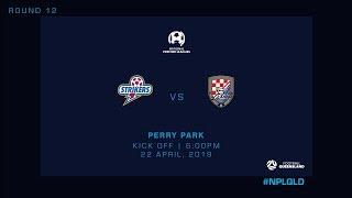 NPL R12 - Brisbane Strikers vs Gold Coast Knights