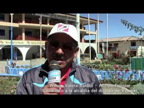 Wilson Valera candidato Acciòn Popular alcaldìa distrito de Pampas- Pallasca