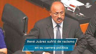El priista denunció racismo en su carrera política