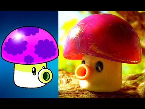 Plants Vs Zombies Characters In Real Life 2017 Youtube