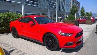 Тест-драйв нового Ford Mustang