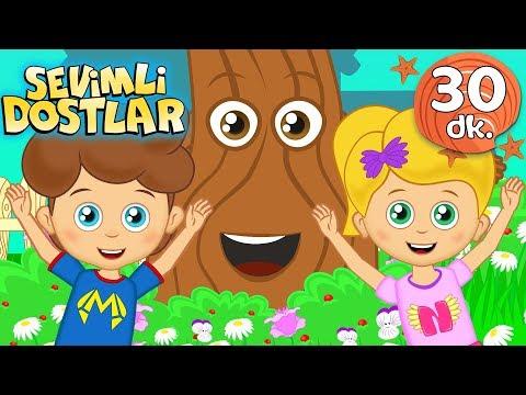 Mutlu Çocuk şarkısı Ve Devamında 30 Dk Sevimli Dostlar Bebek Şarkıları | Adisebaba TV Kids Songs