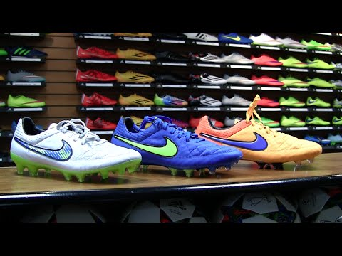 new product 7958d 5d9db Unboxing: Nike Tiempo Legend V (Blue, White, Orange) Spring 2015 ...