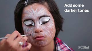 Halloween face painting for kids  Werewolf