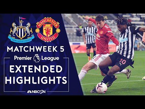 Newcastle v. Manchester United   PREMIER LEAGUE HIGHLIGHTS   10/17/2020   NBC Sports