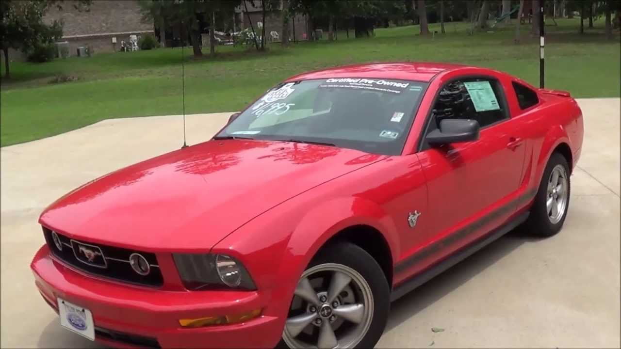 2009 ford mustang v6 premium startup exhaust full tour