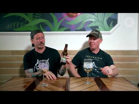 Trappist Beer Pairing 6: Dave Witte, Richard Christy Drink Jackie O's BBA Oil Of Aphrodite