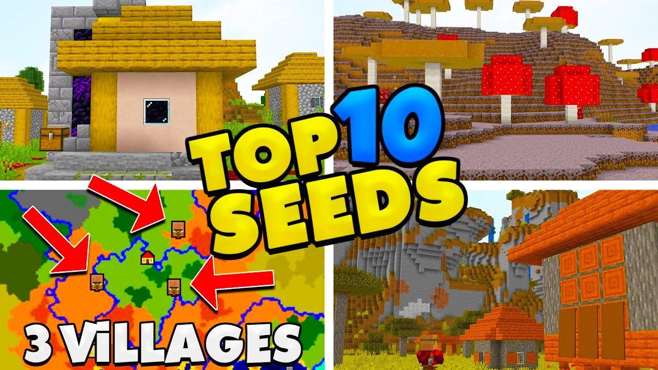 Top 1111 Seeds for Minecraft 11.111! (Minecraft Java Edition Seeds)