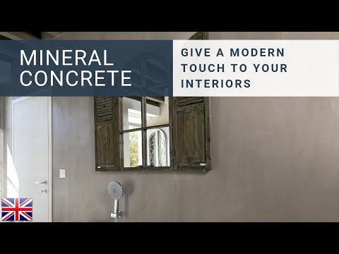 mineral concrete by r sinence youtube. Black Bedroom Furniture Sets. Home Design Ideas