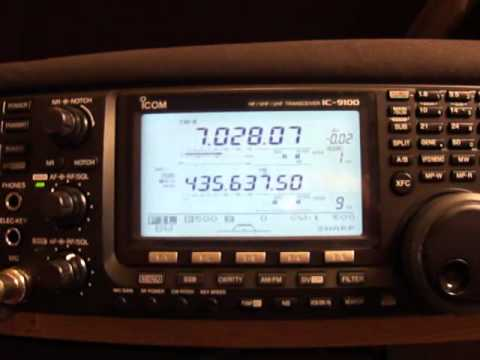 ICOM IC-9100 cw filter
